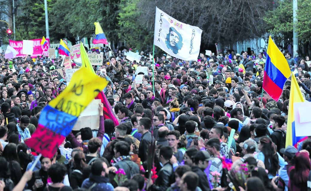 Colombia Protest